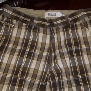 Levi's Shoreline plaid shorts